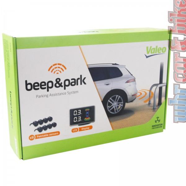 Valeo Beep & Park Kit No.3 Einparkhilfe vorn & hinten 8 Sensoren + LCD-Display