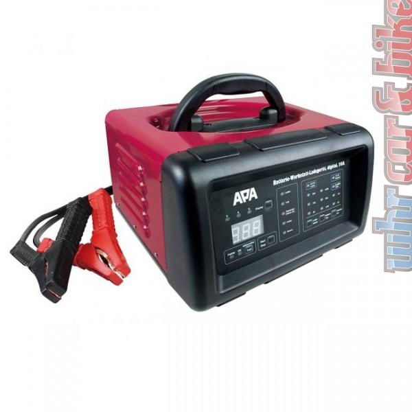 APA 6V 12V 20A digitales Werkstatt Batterieladegerät & Starthilfe 1,2-300Ah