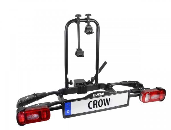 Heckträger Kupplungsträger Eufab Crow für 2 Fahrräder klappbar faltbar