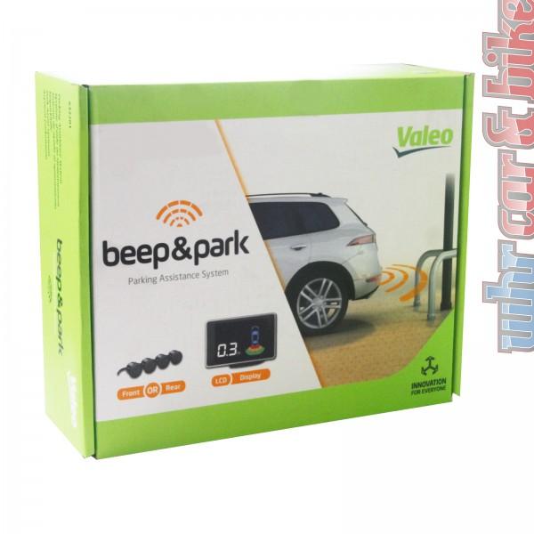 Valeo Beep & Park Kit No.2 Einparkhilfe Rückfahrwarner Front / Heck LCD-Display