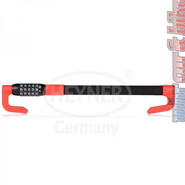Heyner PedalBlock Pro Premium Pedal-Lenkradschloss Zahlenschloss Lenkradsperre