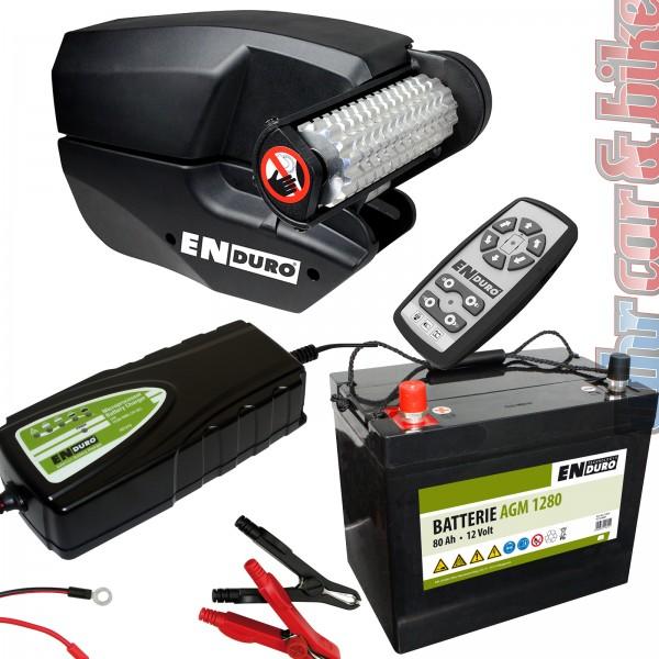 Rangierhilfe Enduro EM303A+ Set Anhänger & Wohnwagen inkl. Batterie + Ladegerät
