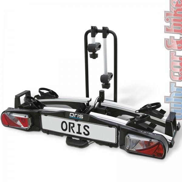 Bosal Oris Traveller II Fahrradträger Heckträger AHK für 2 Fahrräder / E-Bikes