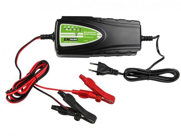 Enduro AS1210 vollautomatisches 10A 12V Batterie Ladegerät AGM Blei Gel -230Ah
