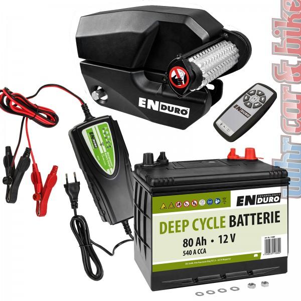 Rangierhilfe Enduro EM303+ Set Anhänger & Wohnwagen inkl. Batterie + Ladegerät