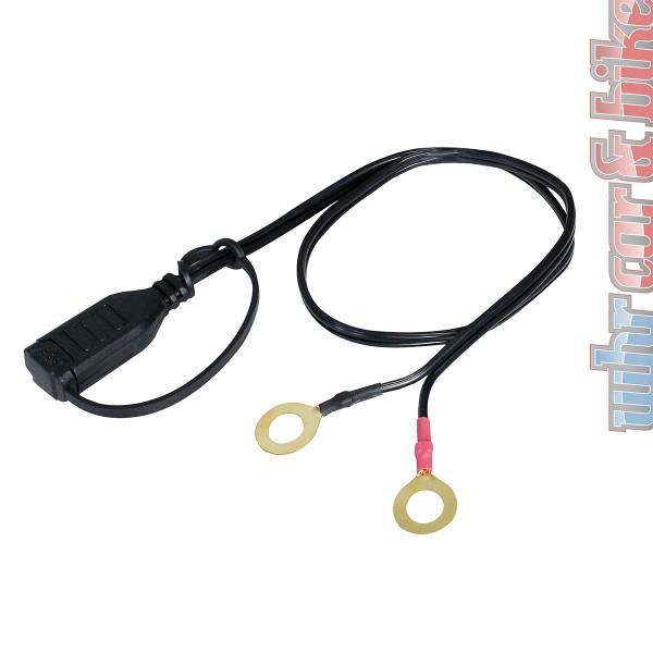 Adapterkabel mit Ringösen 10mm für alle APA Mikroprozessor Batterieladegeräte